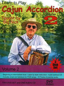 Big Nick's Learn to Play Cajun Accordion, Volume 3 (DVD ...