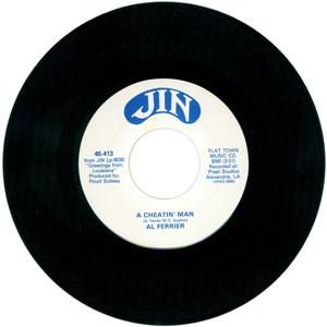 Al Ferrier - You Sure Make It Hard for Me Baby / A Cheatin' Man (vinyl  single)