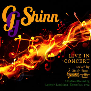 G G  Shinn - Live in Concert (Backed by Bits & Pieces) CD